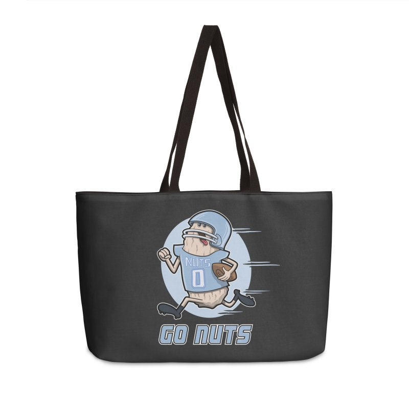 GO NUTS! Accessories Bag by YiannZ's Artist Shop