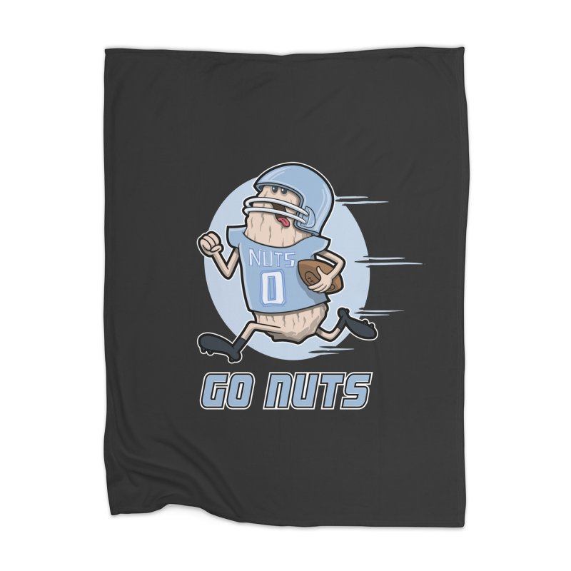 GO NUTS! Home Blanket by YiannZ's Artist Shop