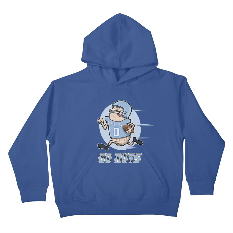 GO NUTS! Kids Pullover Hoody by YiannZ's Artist Shop