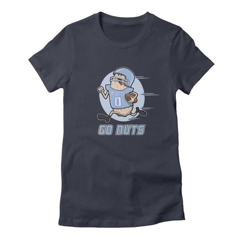 GO NUTS! Women's T-Shirt by YiannZ's Artist Shop