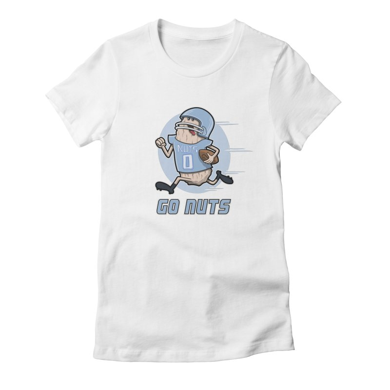 GO NUTS! Women's T-Shirt by YiannZ's Artist Shop