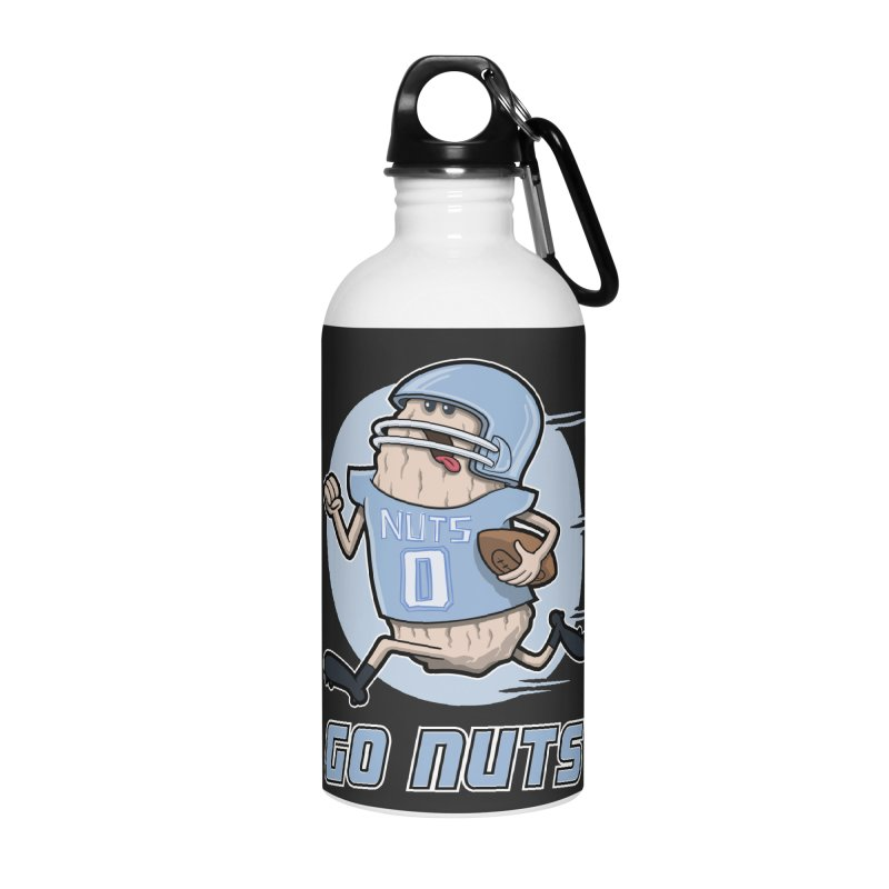 GO NUTS! Accessories Water Bottle by YiannZ's Artist Shop