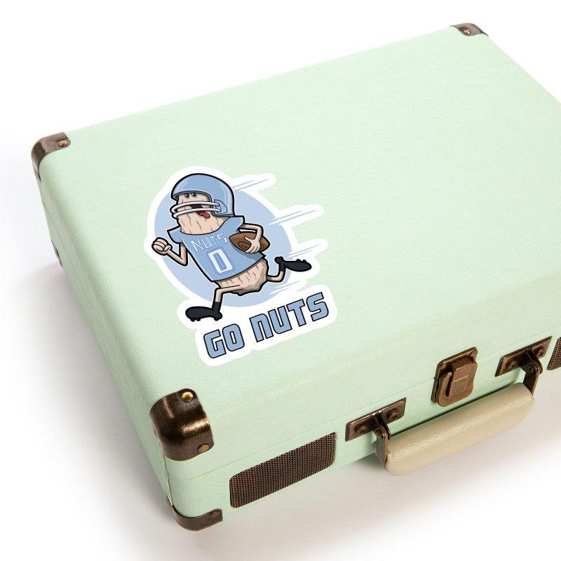 GO NUTS! Accessories Sticker by YiannZ's Artist Shop