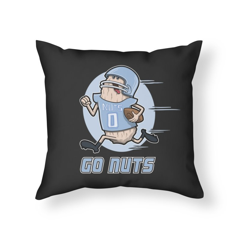 GO NUTS! Home Throw Pillow by YiannZ's Artist Shop