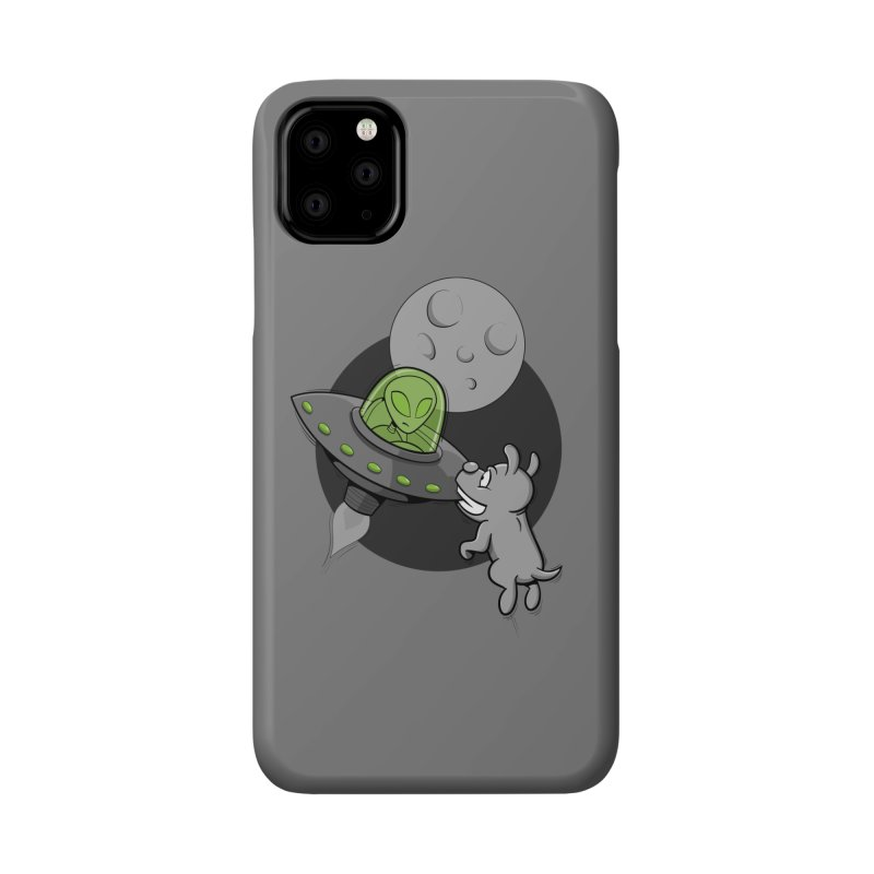UFF - Unidentified Flying Frisbie Accessories Phone Case by YiannZ's Artist Shop