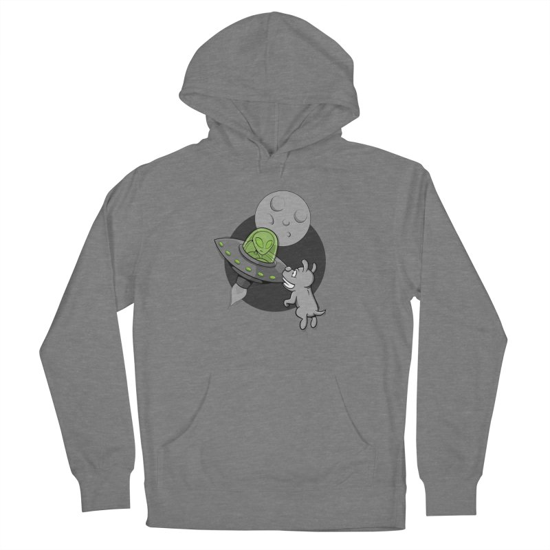 UFF - Unidentified Flying Frisbie Women's Pullover Hoody by YiannZ's Artist Shop