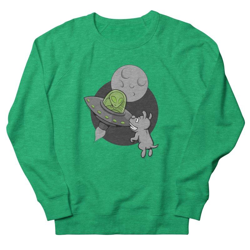 UFF - Unidentified Flying Frisbie Women's Sweatshirt by YiannZ's Artist Shop
