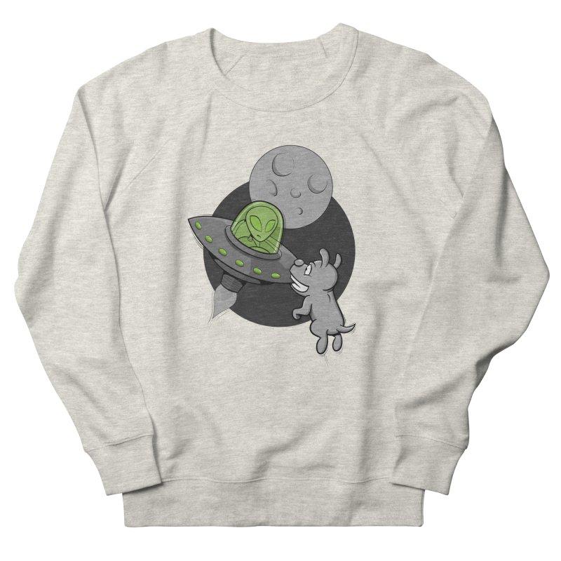 UFF - Unidentified Flying Frisbie Men's Sweatshirt by YiannZ's Artist Shop