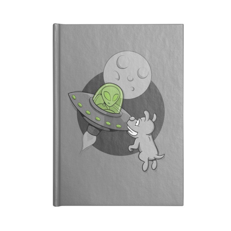 UFF - Unidentified Flying Frisbie Accessories Notebook by YiannZ's Artist Shop