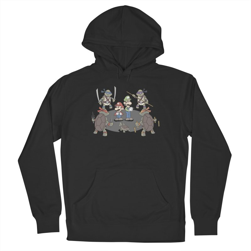 Super Mario Bros VS TMNT Women's Pullover Hoody by YiannZ's Artist Shop