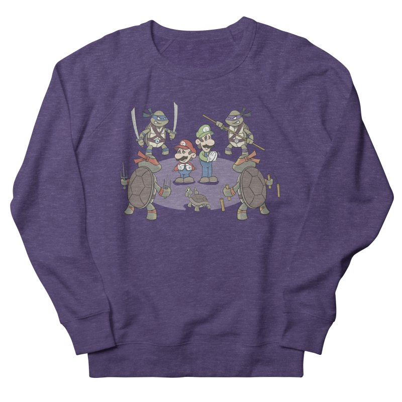 Super Mario Bros VS TMNT Women's Sweatshirt by YiannZ's Artist Shop