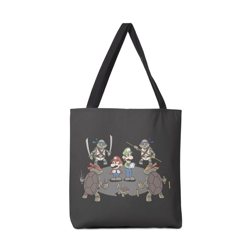 Super Mario Bros VS TMNT Accessories Bag by YiannZ's Artist Shop