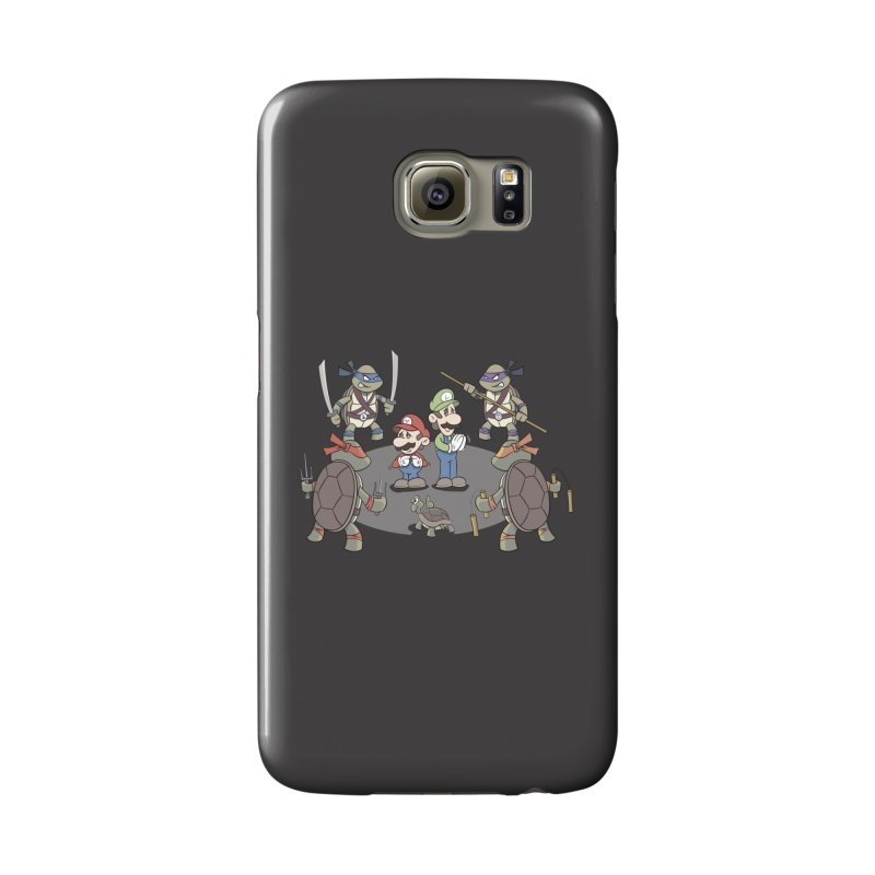 Super Mario Bros VS TMNT Accessories Phone Case by YiannZ's Artist Shop