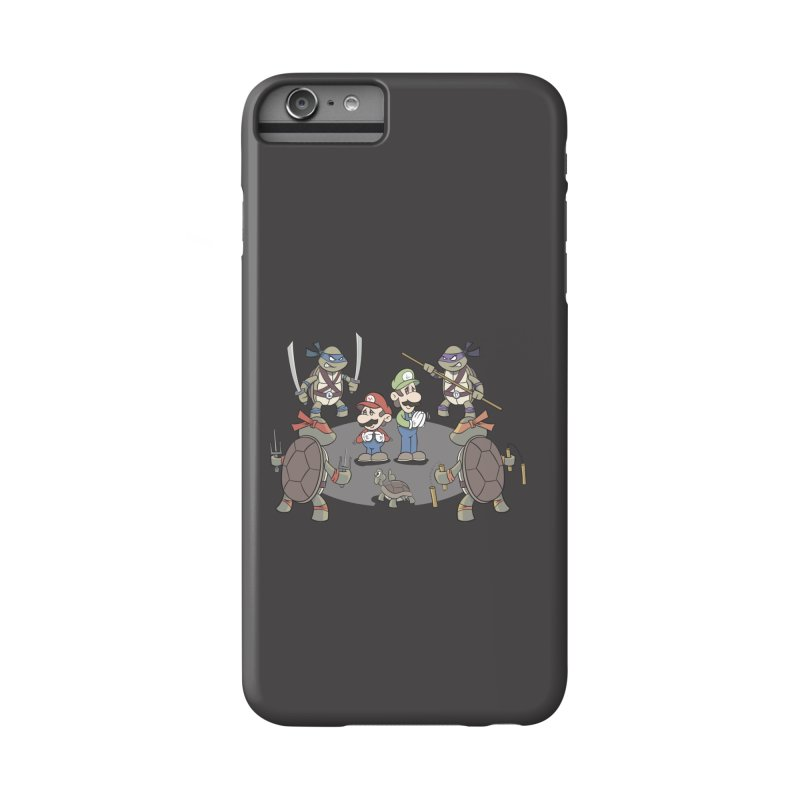 Super Mario Bros VS TMNT Accessories Phone Case by YiannZ's Artist Shop