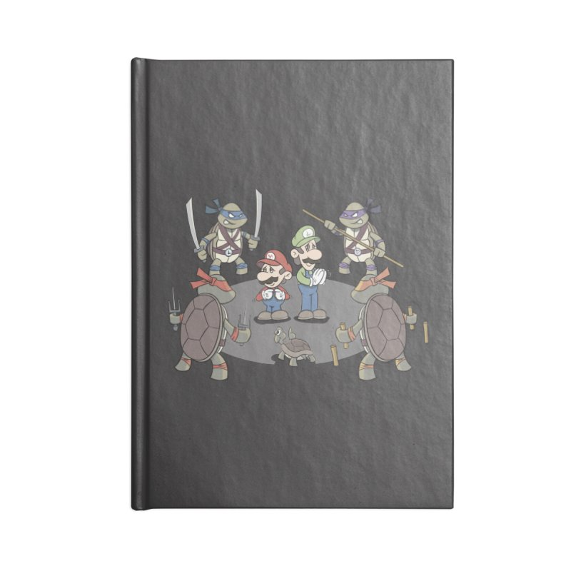 Super Mario Bros VS TMNT Accessories Notebook by YiannZ's Artist Shop