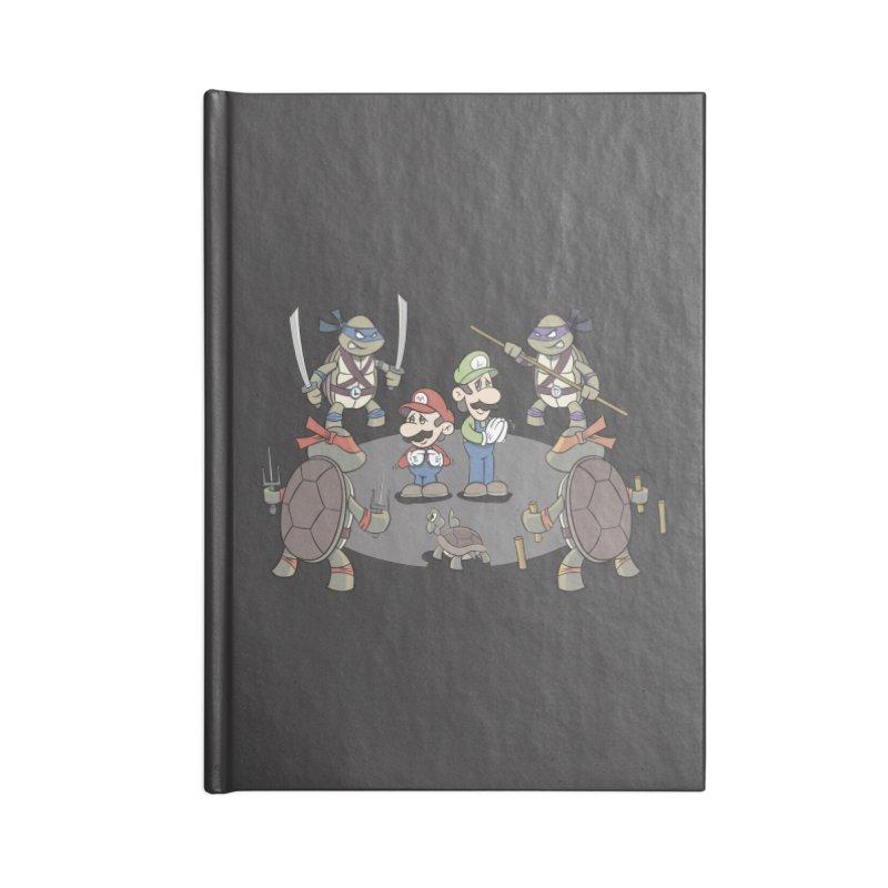 Super Mario Bros VS TMNT Accessories Notebook by YiannZ's Artist Shop