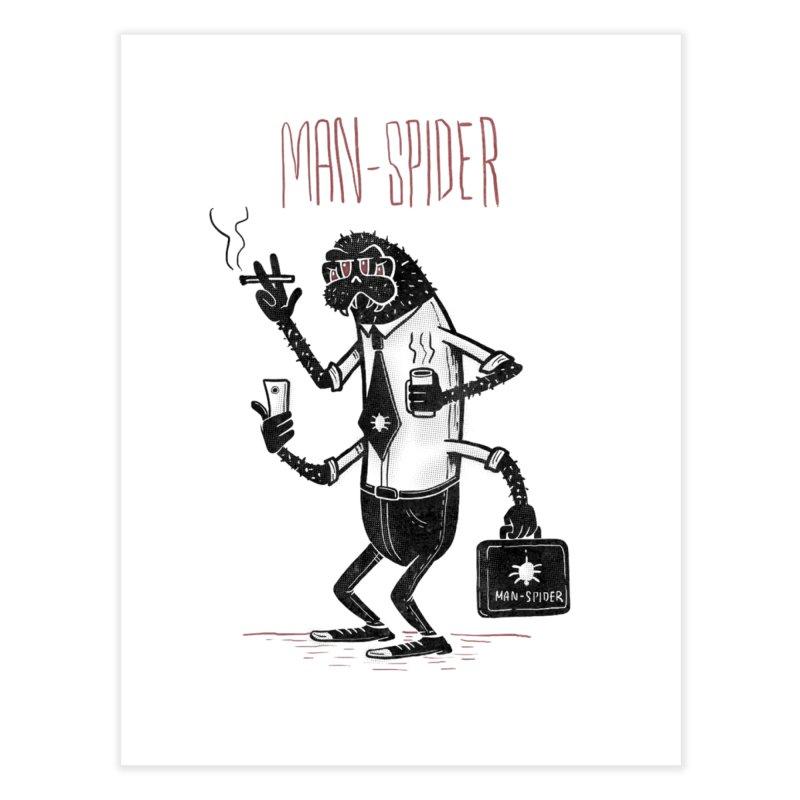 MAN - SPIDER Home Fine Art Print by YiannZ's Artist Shop