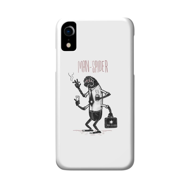 MAN - SPIDER Accessories Phone Case by YiannZ's Artist Shop