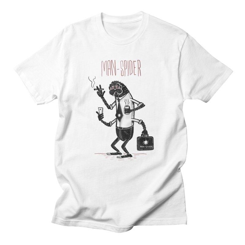MAN - SPIDER Men's T-Shirt by YiannZ's Artist Shop