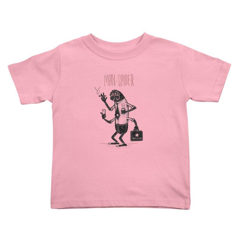 MAN - SPIDER Kids Toddler T-Shirt by YiannZ's Artist Shop