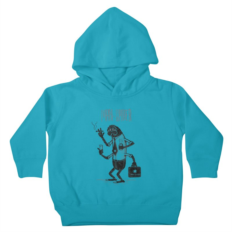 MAN - SPIDER Kids Toddler Pullover Hoody by YiannZ's Artist Shop