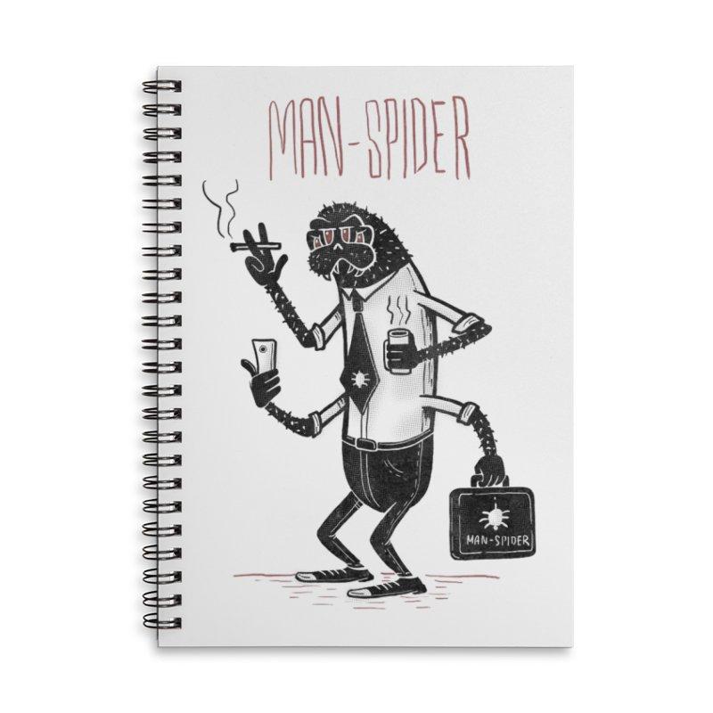 MAN - SPIDER Accessories Notebook by YiannZ's Artist Shop