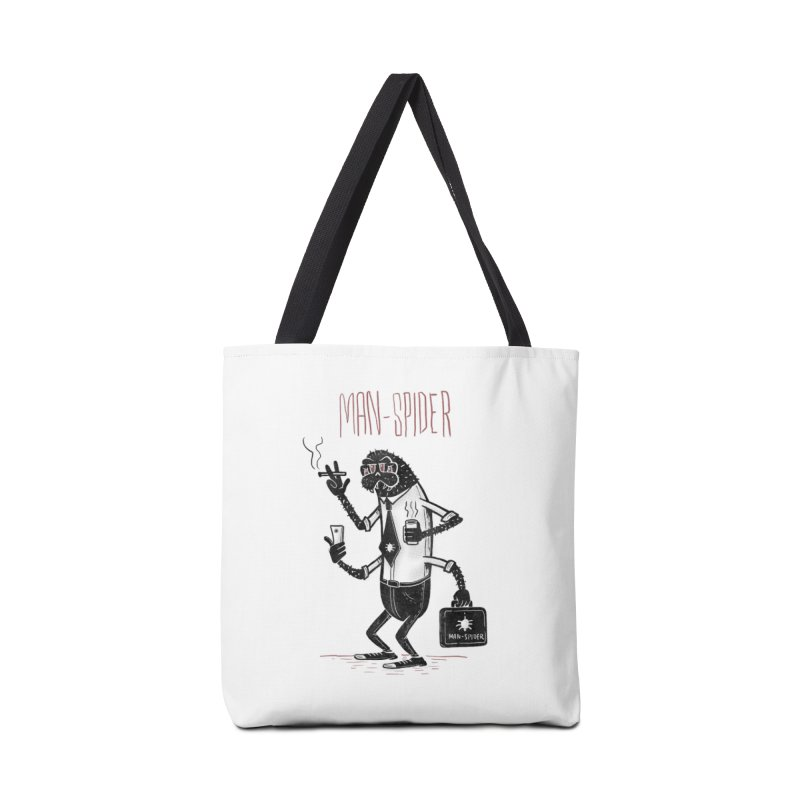 MAN - SPIDER Accessories Tote Bag Bag by YiannZ's Artist Shop