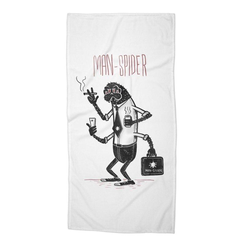 MAN - SPIDER Accessories Beach Towel by YiannZ's Artist Shop