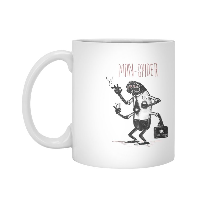 MAN - SPIDER Accessories Mug by YiannZ's Artist Shop