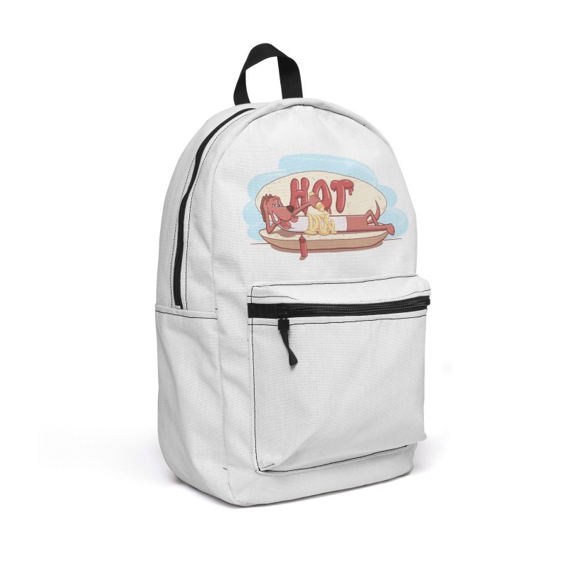 HOT-DOG Accessories Backpack Bag by YiannZ's Artist Shop