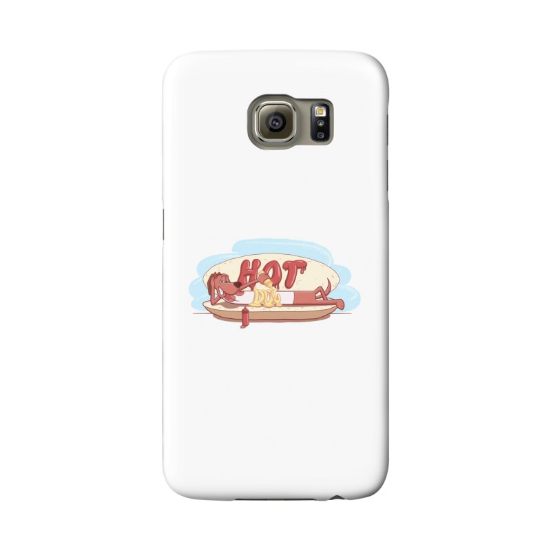 HOT-DOG Accessories Phone Case by YiannZ's Artist Shop