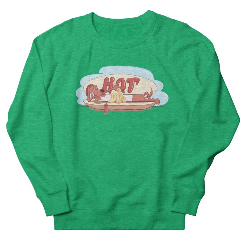 HOT-DOG Women's Sweatshirt by YiannZ's Artist Shop