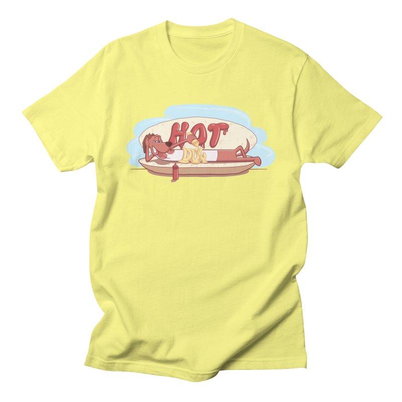 HOT-DOG Men's T-Shirt by YiannZ's Artist Shop