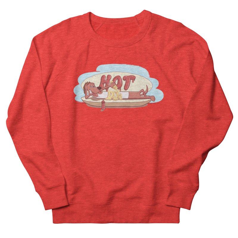 HOT-DOG Women's Sweatshirt by YiannZ's Artist Shop