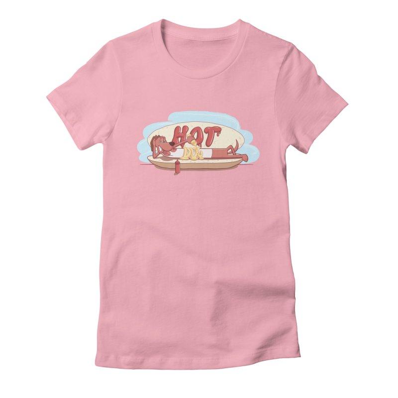 HOT-DOG Women's T-Shirt by YiannZ's Artist Shop