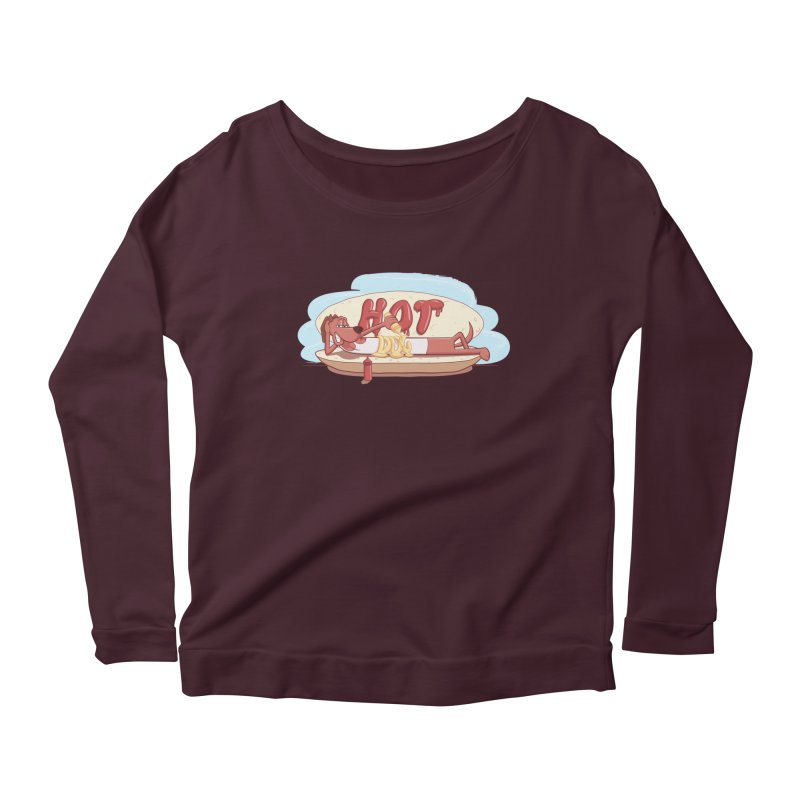 HOT-DOG Women's Longsleeve T-Shirt by YiannZ's Artist Shop