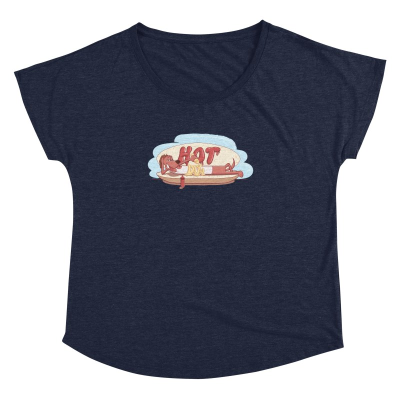 HOT-DOG Women's Dolman by YiannZ's Artist Shop