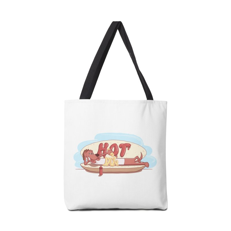 HOT-DOG Accessories Tote Bag Bag by YiannZ's Artist Shop