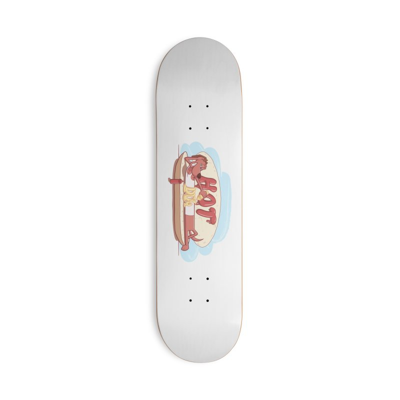 HOT-DOG Accessories Skateboard by YiannZ's Artist Shop