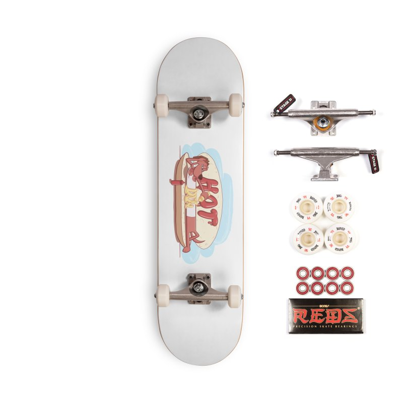HOT-DOG Accessories Complete - Pro Skateboard by YiannZ's Artist Shop