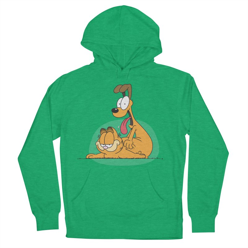 Garfield in CAT-DOG Women's French Terry Pullover Hoody by YiannZ's Artist Shop