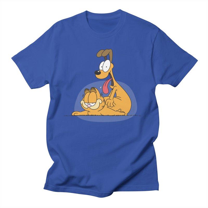 Garfield in CAT-DOG Men's T-Shirt by YiannZ's Artist Shop