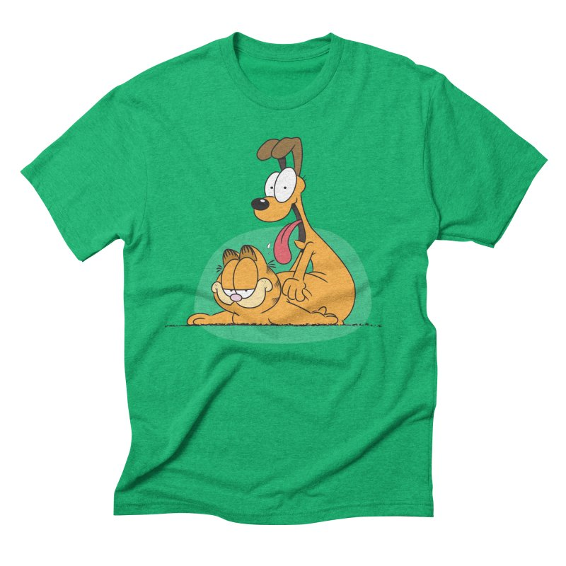Garfield in CAT-DOG Men's Triblend T-Shirt by YiannZ's Artist Shop