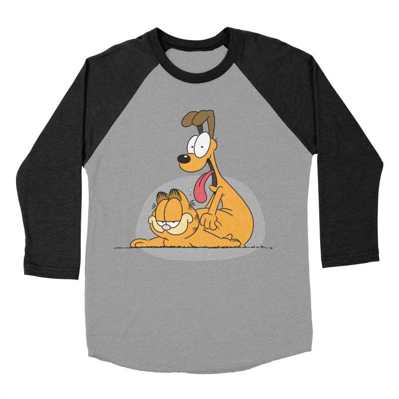 Garfield in CAT-DOG Men's Baseball Triblend Longsleeve T-Shirt by YiannZ's Artist Shop