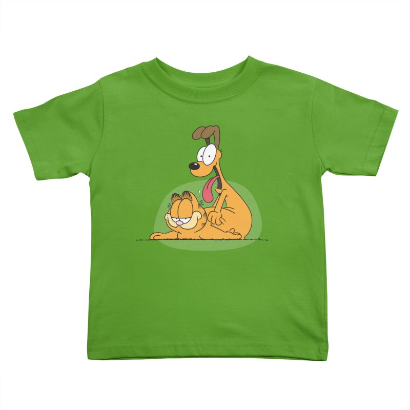 Garfield in CAT-DOG Kids Toddler T-Shirt by YiannZ's Artist Shop