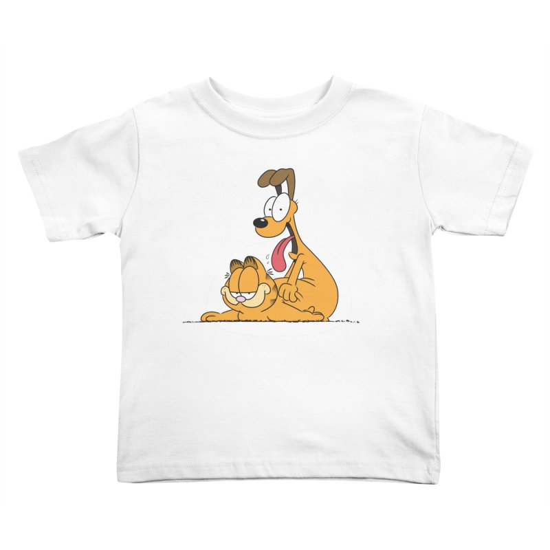 Garfield in CAT-DOG Kids Toddler T-Shirt by YiannZ's Artist Shop
