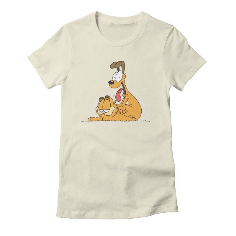 Garfield in CAT-DOG Women's T-Shirt by YiannZ's Artist Shop