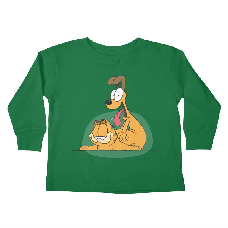 Garfield in CAT-DOG Kids Toddler Longsleeve T-Shirt by YiannZ's Artist Shop