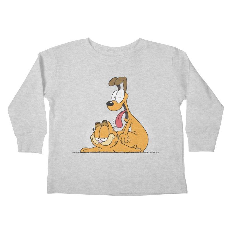 Garfield in CAT-DOG Kids Toddler Longsleeve T-Shirt by YiannZ's Artist Shop