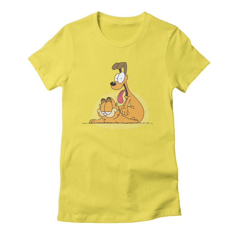 Garfield in CAT-DOG Women's T-Shirt by YiannZ's Artist Shop
